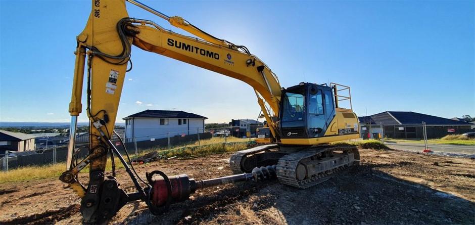 Sumitomo SH210-6 20147 Excavator