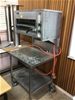 Zanussi Stainless Steel Griller on Mobile 2-Tier Stainless Steel Trolley