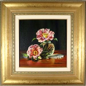 ANN MORTON (1958) ORIGINAL Oil Painting