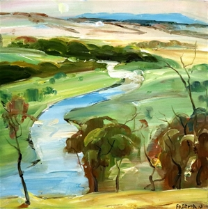 JAMES FREEMAN (AUS) ORIGINAL OIL Paintin