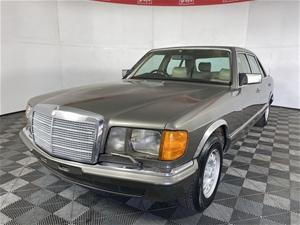1983 Mercedes 380sel automatic sedan