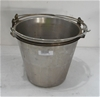 Qty 3 x Stainless Steel Buckets