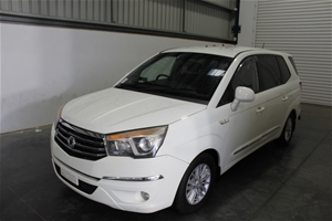 2014 Ssangyong Stavic Turbo Diesel Autom