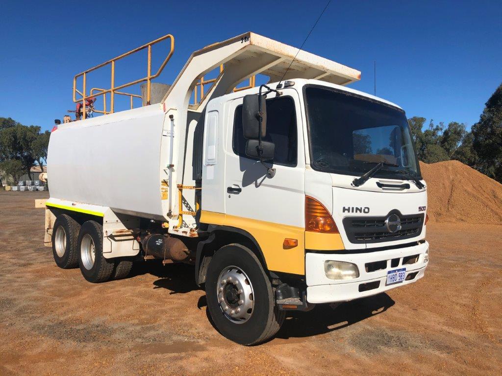 2009 Hino FM1J 500 6 x 4 Water Truck (Geraldton)