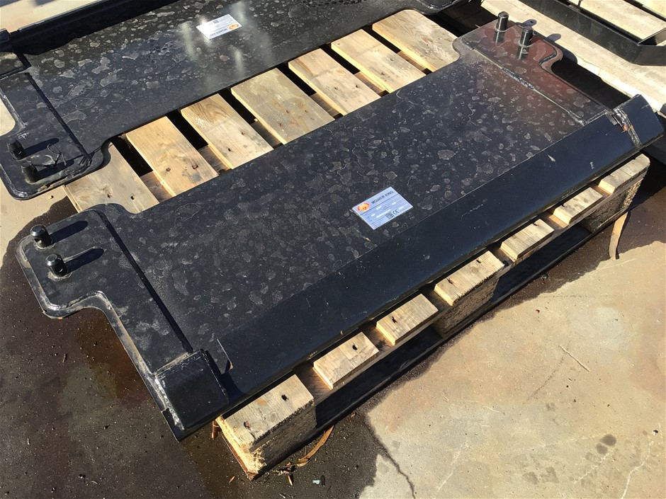 2021 Mower King JDMP Mounting Plate for Tractor / Front End Loader