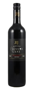 J & J Wines Organic Rivers Lane Shiraz 2
