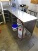 Austmont Custom Made Stainless Steel Bench