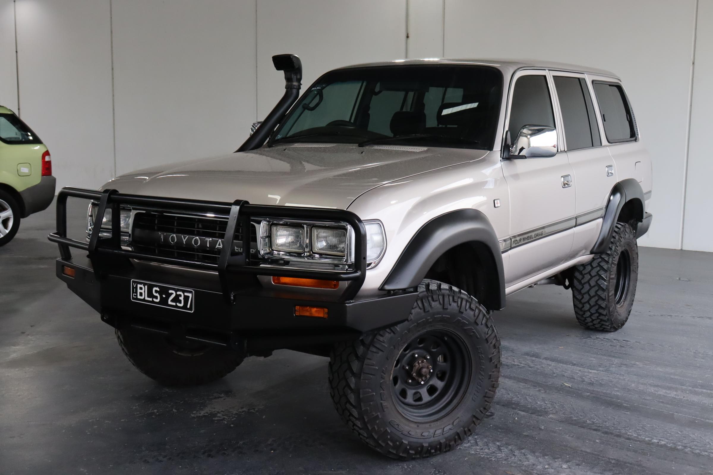 1992 Toyota Landcruiser GXL (4x4) HDJ80 Turbo Diesel (Fully Restored)