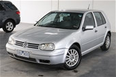 Unreserved 2002 Volkswagen Golf 1.6 SE A4 Automatic