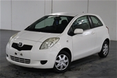 Unreserved 2008 Toyota Yaris YR NCP90R Automatic Hatchback