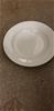 Qty 12 x White Ceramic Entre Plates