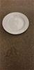 Qty 12 x White Ceramic Side Plates