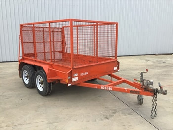2013 Trailer Factory HD Cage Trailer