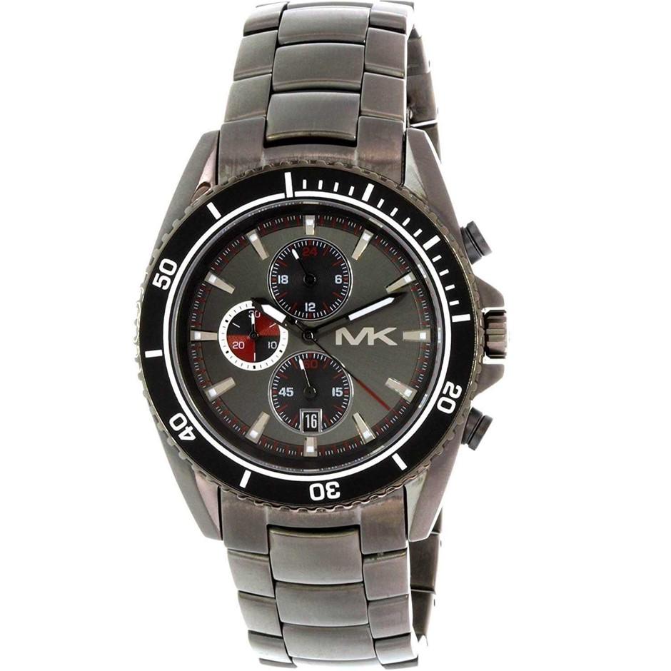 Terrific new Michael Kors Gunmetal Ion-plated Men's Watch