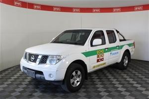 2012 Nissan Navara DUAL CAB RX D40 Turbo