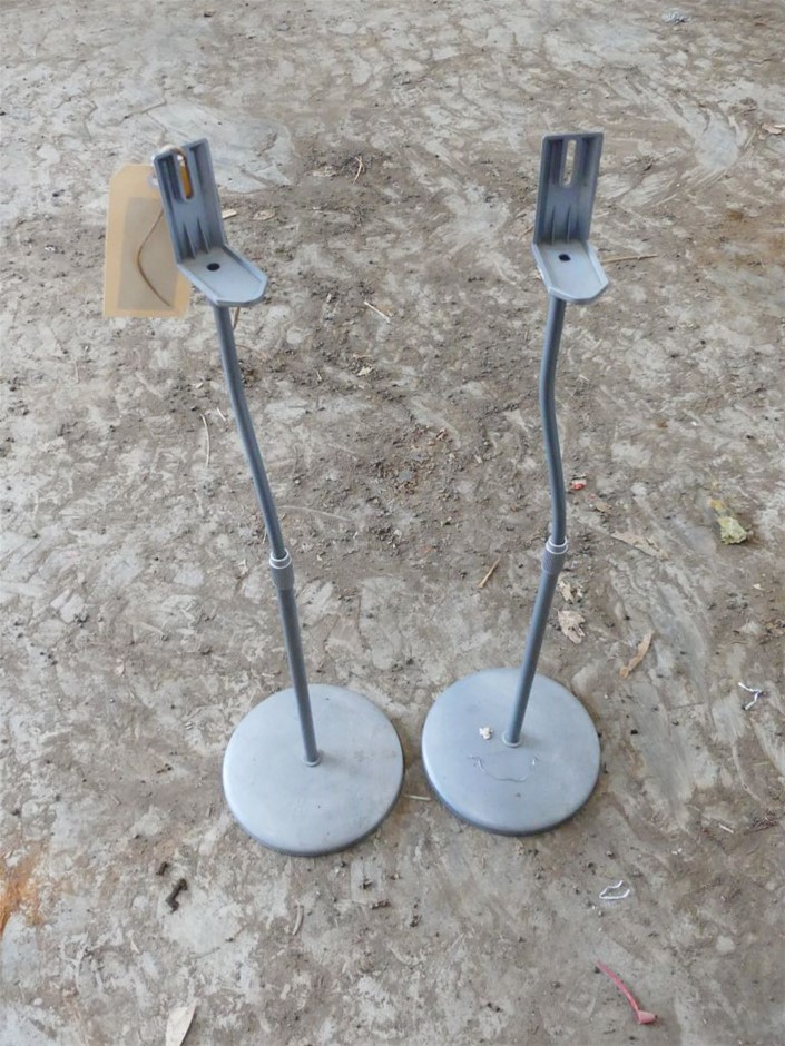 Qty 2 x Post style Speaker Stands.