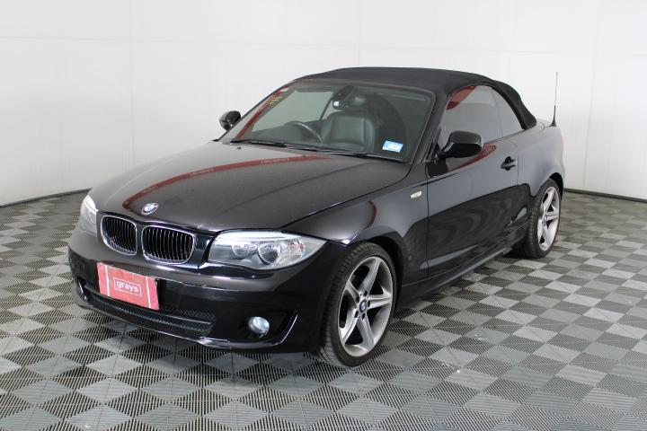 2012 BMW 118d Auto T/Diesel Convertible 92,945 kms