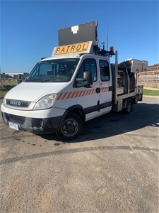 2010 Iveco Daily Automatic Dual Cab Chas