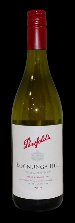 Penfolds Koonunga Hill Chardonnay 2019 (6 x 750mL), SA