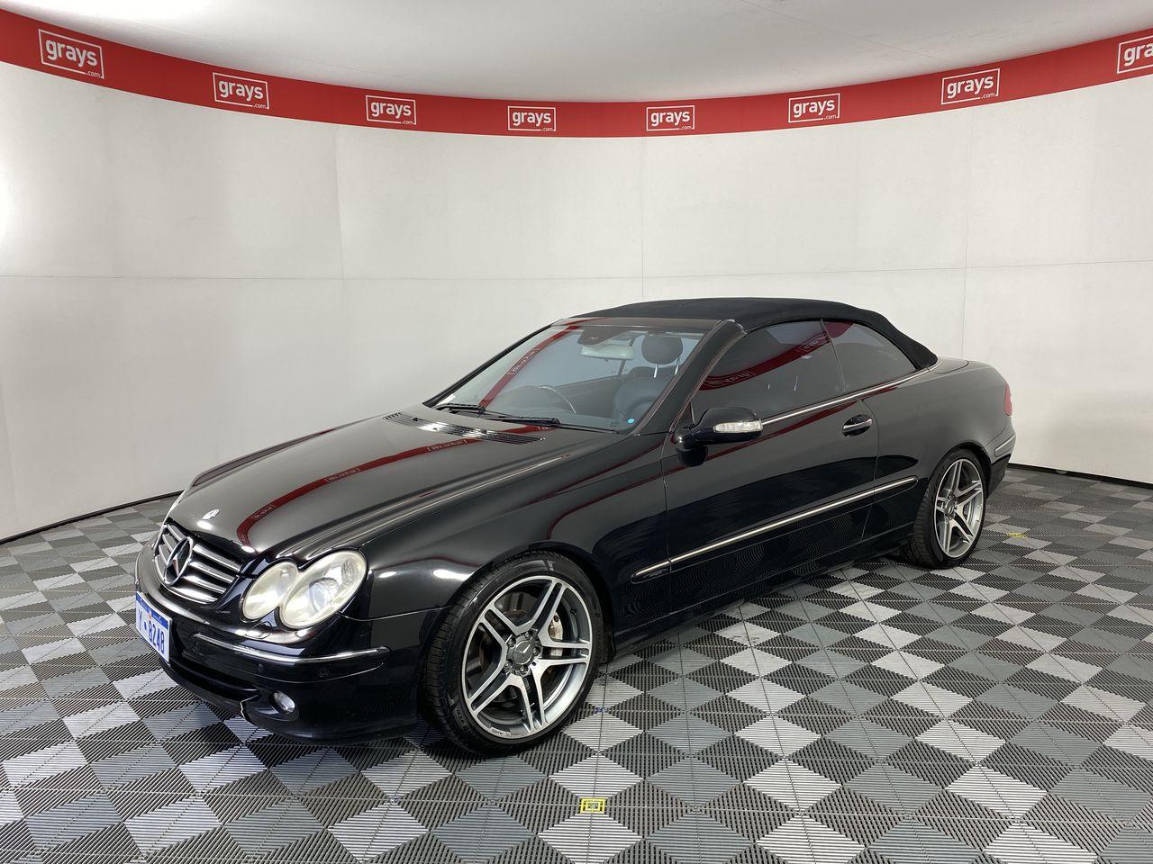 2004 Mercedes Benz CLK500 Avantgarde A209 Auto Convertible (WOVR-Inspected)