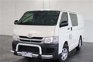2010 Toyota Hiace LWB TRH201R Manual Van