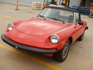1978 Alfa Romeo Spider RWD Manual Conver