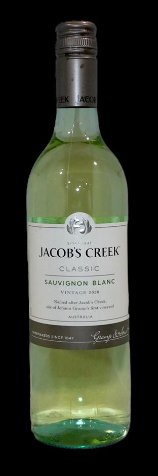 Jacobs Creek Classic Sauvignon Blanc 2020 (6 x 750mL), SE AUS.
