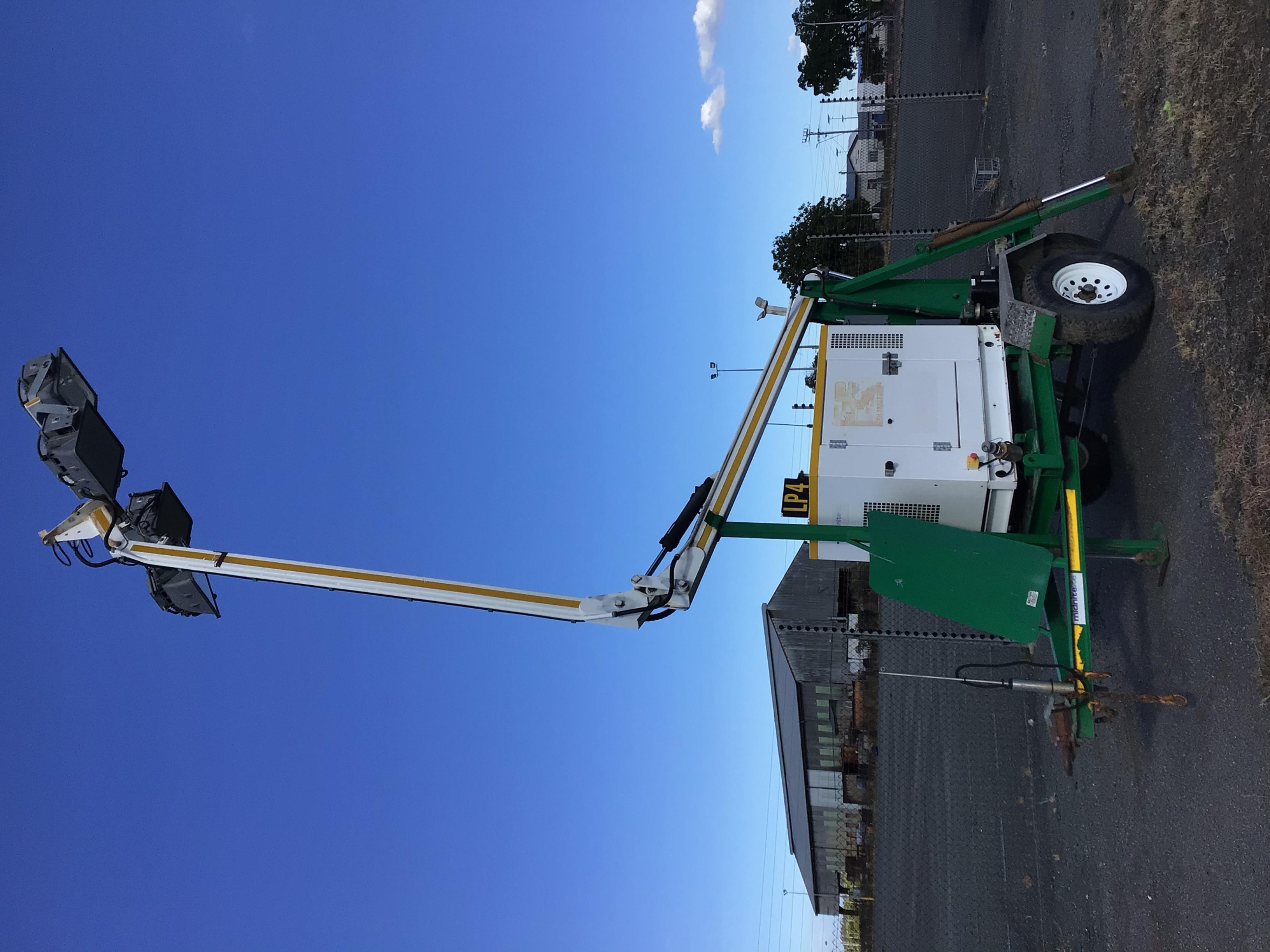 2012 SE Power Midnite Lite Light Tower/ Generater Trailer