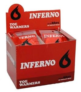 40 x INFERNO Toe Warmers