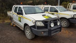 Toyota Hilux SR 4 X 4 Dual Cab Utility