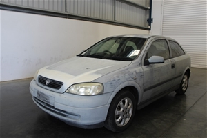 2003 Holden Astra SXi TS Manual Hatchbac