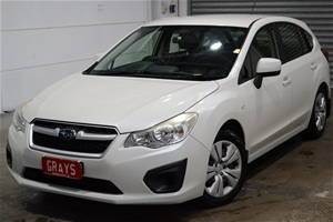2013 Subaru Impreza 2.0i (AWD) G4 CVT Ha