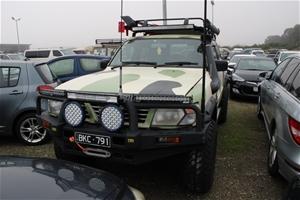 1999 Nissan Patrol ST (4x4) GU Turbo Die
