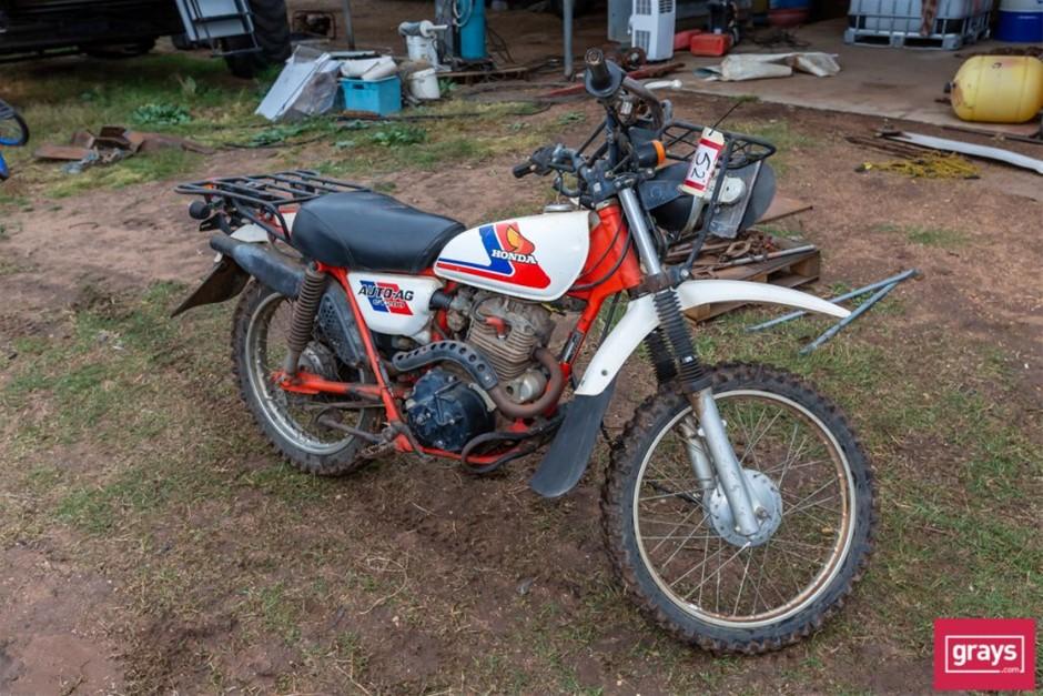 1984 Honda CT200 Motor Bike