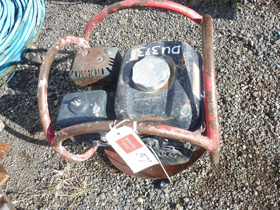 Trash Pump and Qty Flex Drive Concrete Vibrating Needles and Motor