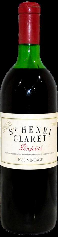 Penfolds St Henri Claret 1983 (1 x 750mL), SA