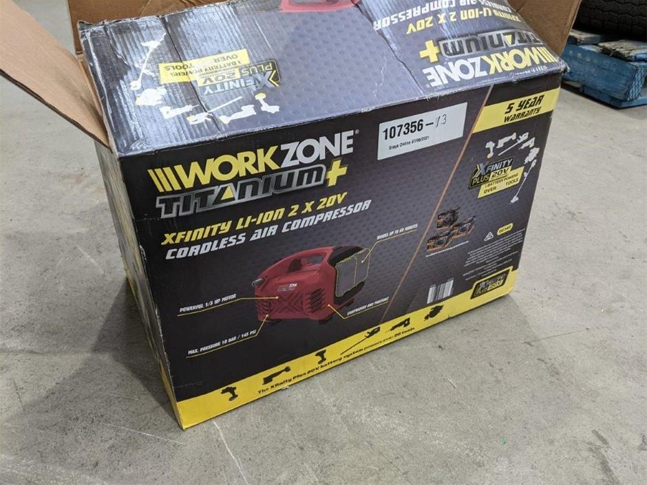 Workzone Titanium Cordless Air Compressor