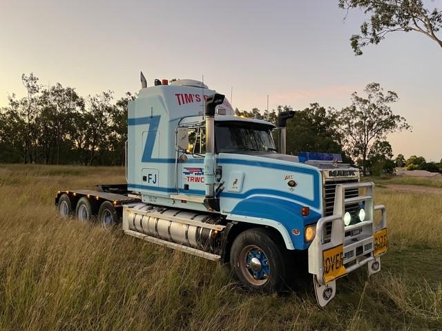 1998 Mack CLR Titan EA9 V8 Prime Mover Truck - 240T GCM