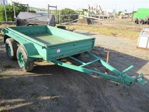 2009 Homemade box trailer, dual axle, VIN: 6T9T23ABN90AAB012, ATM 2000kg, 2