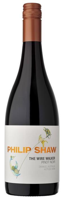 Philip Shaw The Wire Walker Pinot Noir 2019 (12x 750mL), Orange NSW