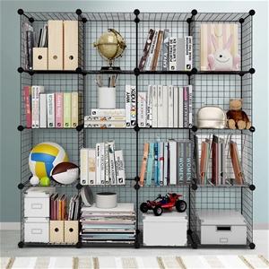 Wire Cube Storage Cabinet DIY 16 Cubes