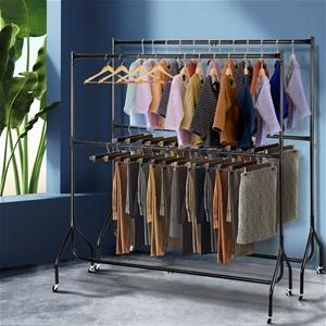 2x Clothes Racks - 2 Level