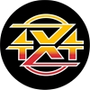 BUSHRANGER 83Z87X 4x4 Gear Spare Wheel Cover, Black. Buyers Note - Discount