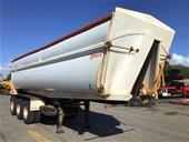 2013 Howard Porter Grain Triaxle Tipper Trailer w/Extension