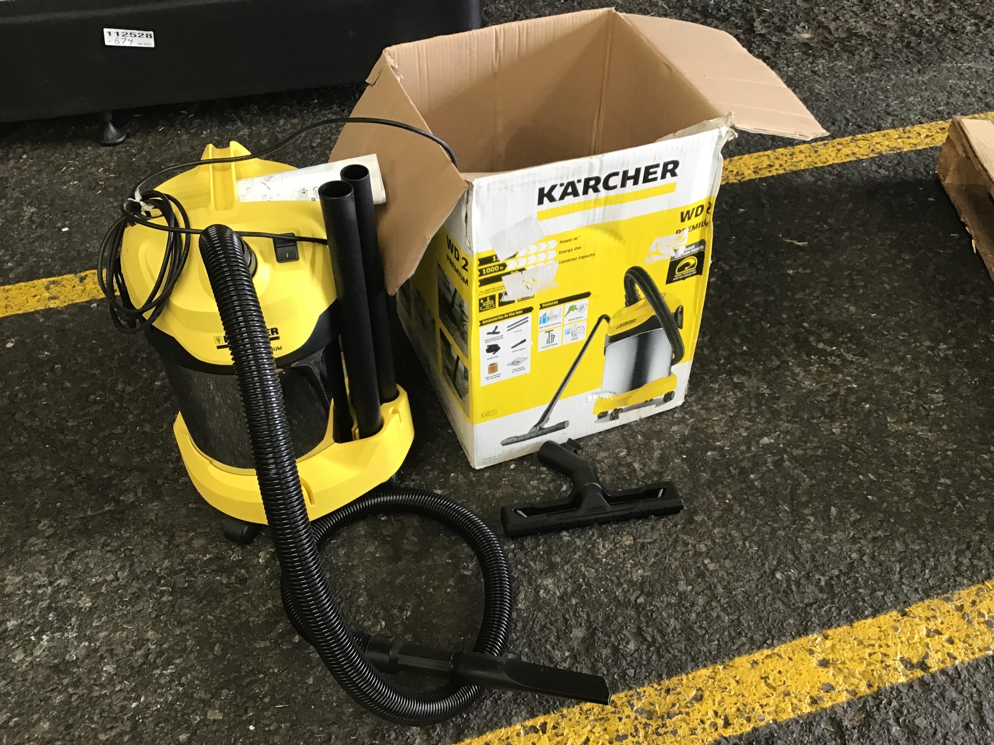 Karcher WD2 Premium Vacuum