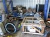 Shed Containing Large Quantity of Induction Motors