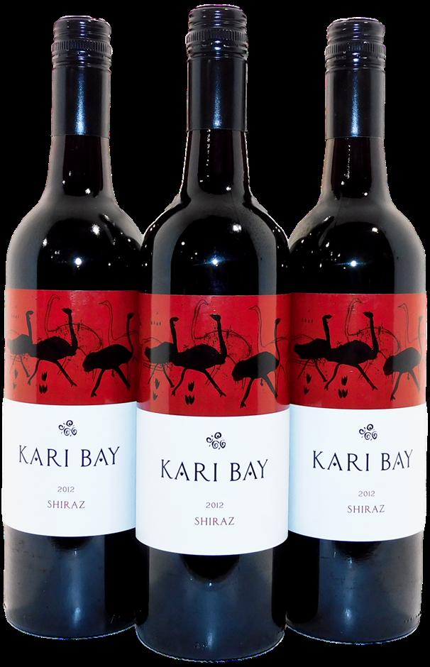 ARH Australian Wine Co Kari Bay Shiraz 2012 (3x 750mL), SA