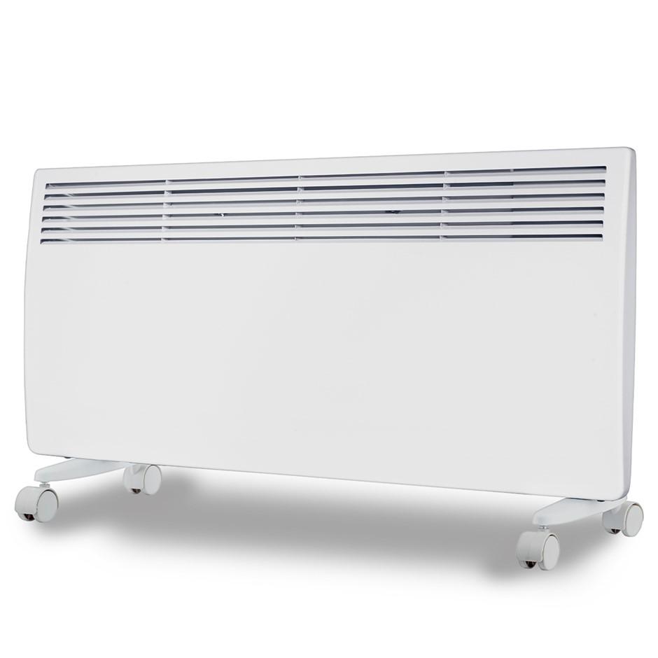 Levante NDM-24WT 2400W Electric Panel Heater Wifi Thermostat Castors