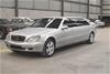 2002 Mercedes Benz S600 Pullman V12 Automatic Limousine