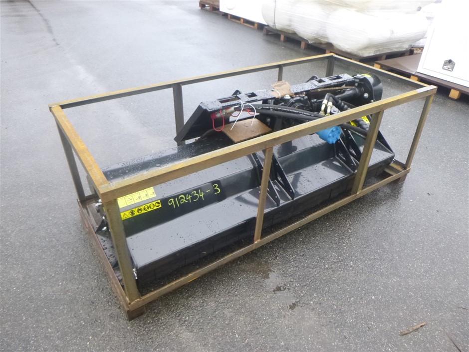 Unused 2021 SSEFGC175 Mower King Skid-Steer Mower